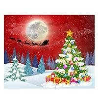 Christmas Scene Diamond Art Kit