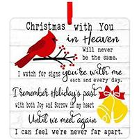 Christmas With You in Heaven Ornament