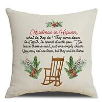 Christmas in Heaven Pillow