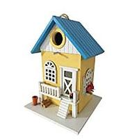 Colored Country Cottages Bird House (Bestseller)