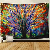 Colorful Tree Tapestry