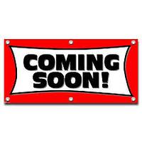 """Coming Soon"" Signs"