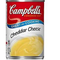 Condensed Cheddar Cheese Soup
