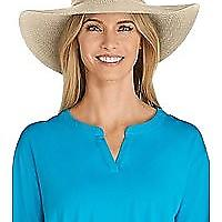 Coolibar UPF 50+ Women's Packable Wide Brim Sun Hat