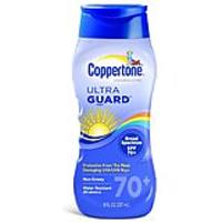Coppertone Ultraguard Sunscreen Lotion, SPF 70+