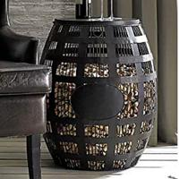 Cork Barrel Side Table
