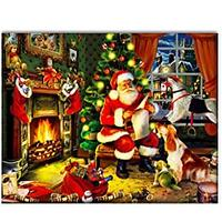 Cozy Christmas Night Diamond Art Kit