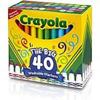 Crayola Broad Line Ultra-Clean Washable Markers