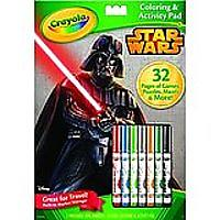 Crayola Star Wars Coloring & Activity Pad