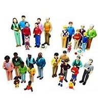 Creative Minds Multi-Ethnic Pretend Play Family Set (32 Pieces)