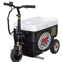 Cruzin Cooler Motorized Ice Chest Scooter