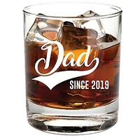 Dad Since 2019 Whiskey Glass