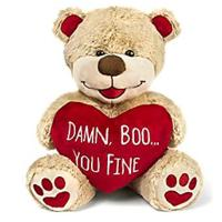 """Damn Boo, You Fine"" Stuffed Bear"