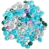 Decorative Vase Filler Assorted Diamond Glass Gems