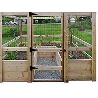 Deer-Proof Just Add Lumber Vegetable Garden Kit - 8' x 8'