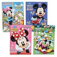 Disney's Mickey Mouse & Minnie Mouse Plus Friends Activity And Coloring Book