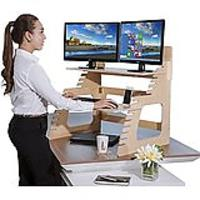 Double Monitor Standing Desk