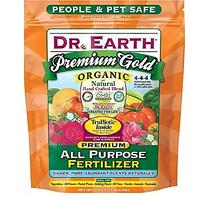 Dr. Earth Premium Gold All-Purpose Fertilizer - 4 Pounds