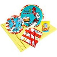 Dr. Seuss 1st Birthday Party Supplies