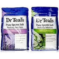 Dr. Teal's Epsom Salt Soaking Solution Bundle