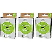 Earthkind Stay Away Rodent Botanical Repellent, Pack of 3
