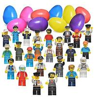 Easter Eggs With 24 Mini Figures Building Bricks