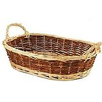 Empty Wicker Gift Basket