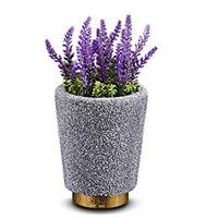 Essential Oil Diffuser Humidifier, Lavender Potted Plant