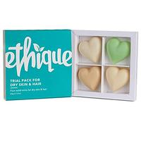 Ethique Eco-Friendly Trial Pack for Dry Skin and Hair