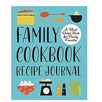 Family Cookbook Recipe Journal