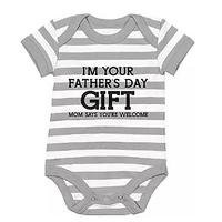 Father's Day Baby Onesie