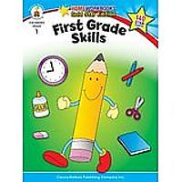 First Grade Skills: Gold Star Edition (Home Workbooks)