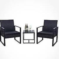 Flamaker Wicker Patio Furniture Set