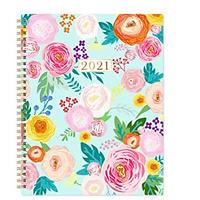 Flowers 2021 Day Planner