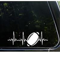 Football Car Sticker