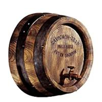 French Vineyard Decor Wine Barrel Wall Sculpture