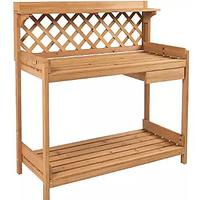 Garden Potting Bench and Work Station