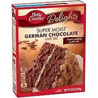 German Chocolate Cake Mix