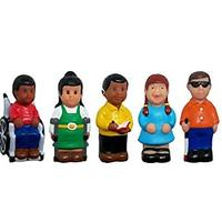 Get Ready Kids Friends With Disabilities Play Figures