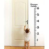 Giant Vinyl Growth Chart Kit