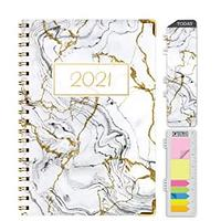 Gold Marble Foil 2021 Day Planner