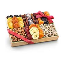 Golden State Fruit Pacific Coast Deluxe Dried Fruit Tray With Nuts