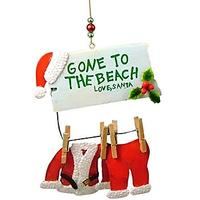 Gone to the Beach Christmas Ornament