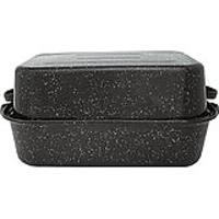 Granite Ware Covered Rectangular Roaster