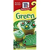 Green Food Coloring