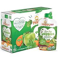 Happy Tot Organic Stage 4 Baby Food Love My Veggies (Pack of 16)