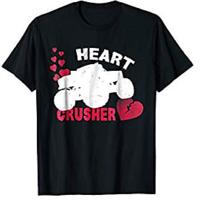 Heart Crusher Valentine's Day T-Shirt