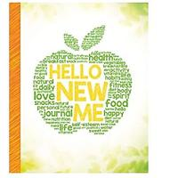 Hello New Me: A Daily Food and Exercise Journal to Help You Become the Best Version of Yourself (Bestseller)