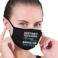 History Teachers Bring Up the Past Face Mask