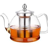 Hiware Glass Teapot With Removable Infuser (Donna's Favorite)